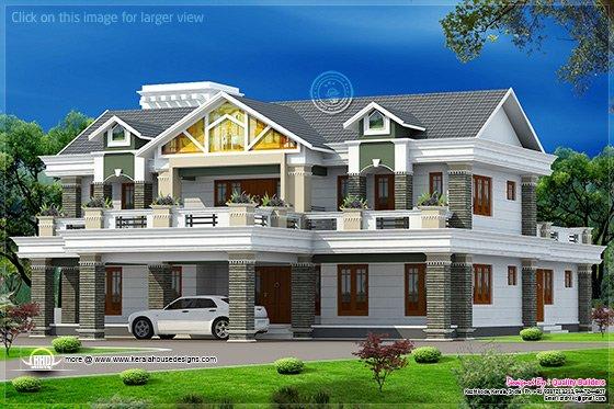 5935 Sqfeet Super Luxury Home Design  Kerala Home Design