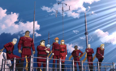 cyborg 009 and 003 relationship