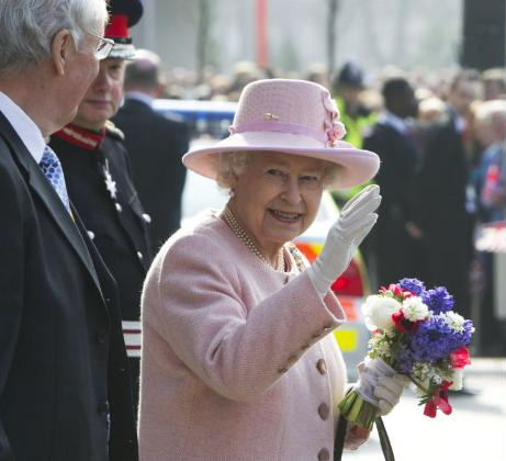 Time Was Antiques Queen Elizabeth II visits Manchester