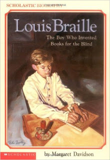 https://www.amazon.com/Louis-Braille-Invented-Scholastic-Biography/dp/059044350X/ref=sr_1_1?ie=UTF8&qid=1483139671&sr=8-1&keywords=books+about+braille+for+kids