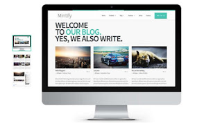 Mintify Blogger Template