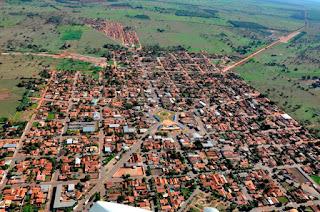 Vista aérea - Portal da câmara municipal de Brasilândia