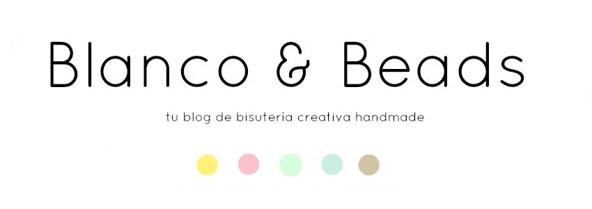 Blanco y Beads: Tutorial 1: pulsera elástica.
