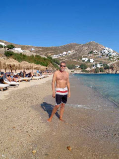 Wayne Dunlap Eila Beach Mykonos Greece