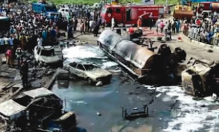 Aba tanker fire destroys vehicles
