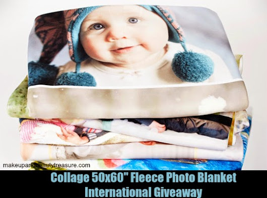 Collage Photo Blanket International Giveaway