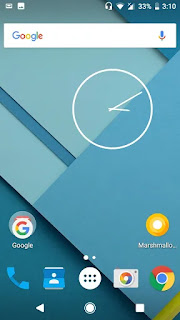 android lollipop screenshot