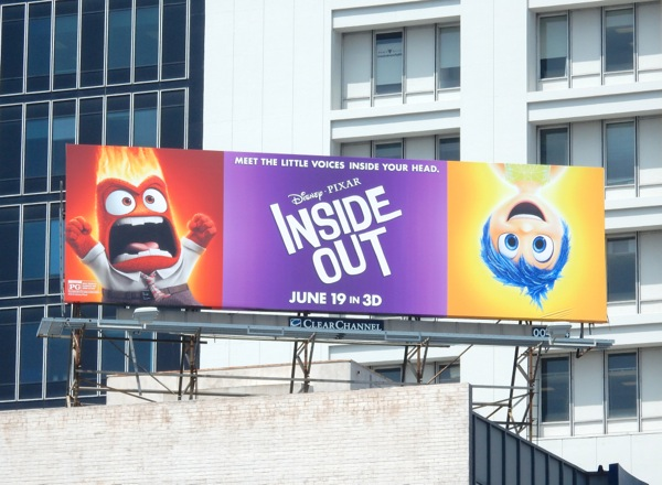 Inside Out Anger Joy movie billboard