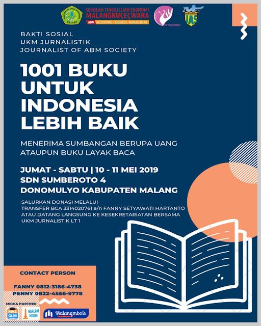 1001 Buku Untuk Indonesia Lebih Baik
