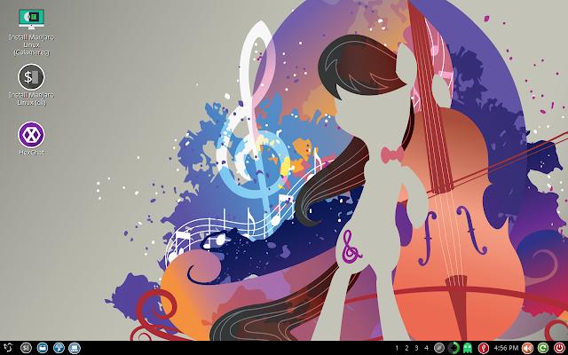 Manjaro LXQt 16.04 Desktop - Initial impression