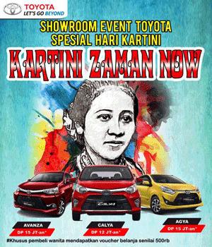 Promo Showroom Event Dealer Toyota Depok 2018