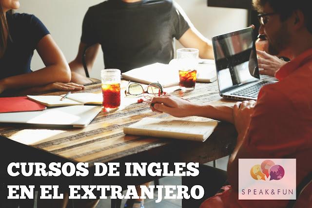 Étudiants d'anglais à l'étranger