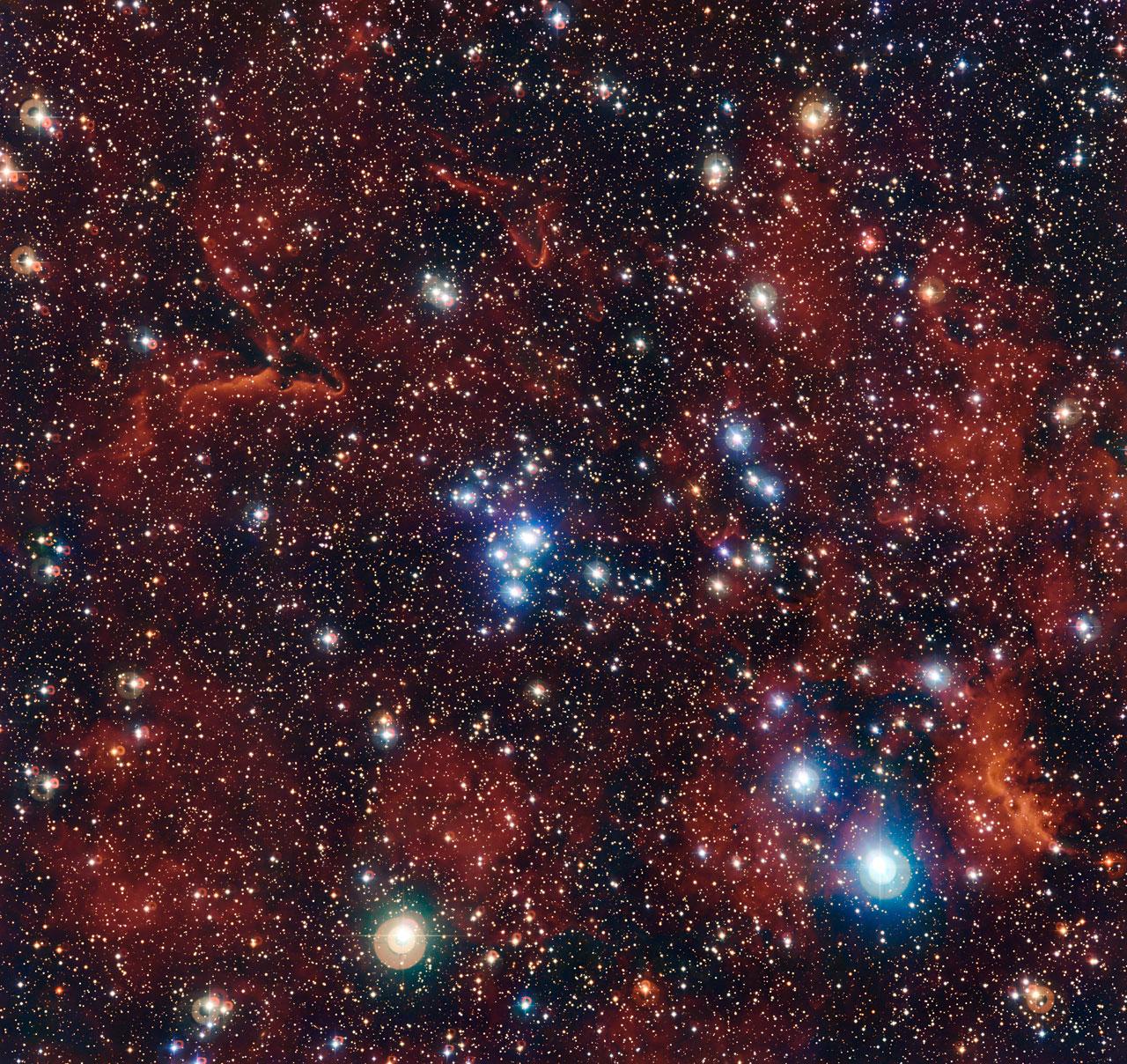 Star Cluster NGC 2367 | Earth Blog