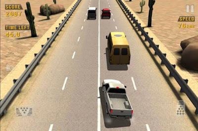 تحميل وتنزيل لعبة سباق السيارات Traffic Racer APK للهاتف الاندرويد برابط واحد سريع