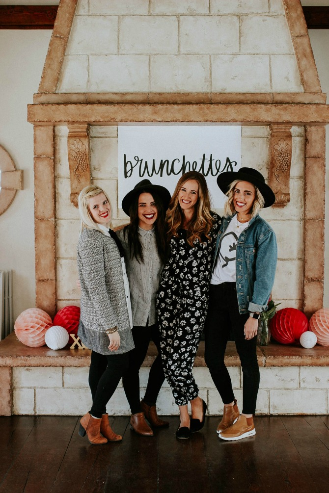 The Importance of overcoming hardships: brunchettes charity event