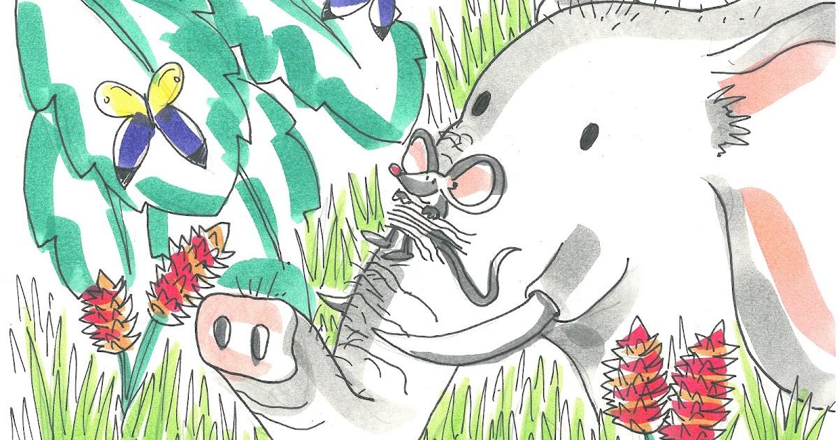 El Baño De Tina Y Leo Cuento Audiocuento Y Lámina Para: Cuentos Infantiles Cortos: Un Elefante Resfriado Y Un