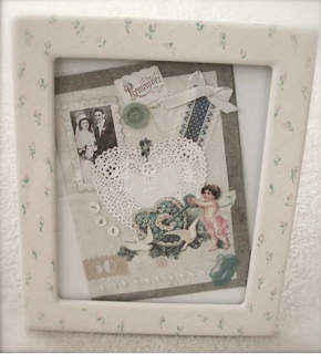 Make a Memory Frame for a gift or memorial-preserve memories!