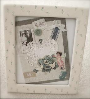 Make a Memory Frame for a gift or memorial-preserve memories!