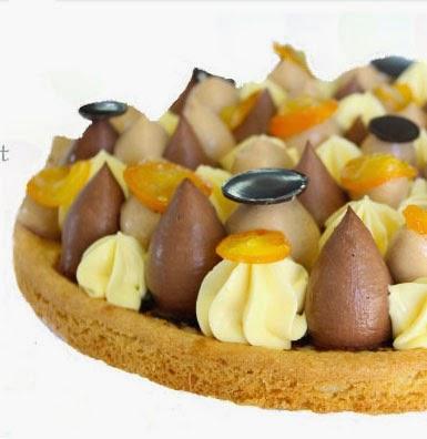 B Patisserie Vanilla Cassis Cake