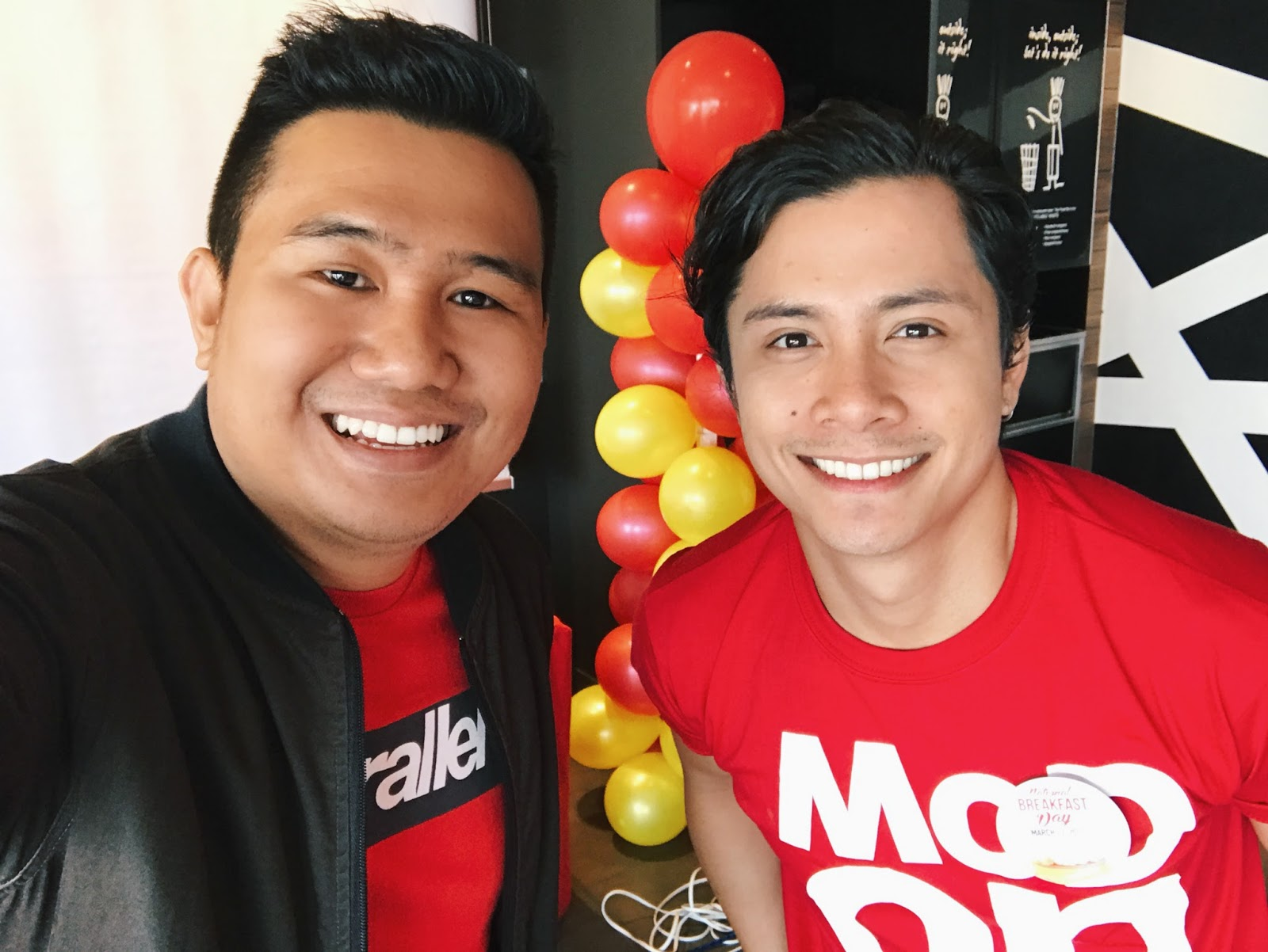 McDonald's National Breakfast Day JC Santos