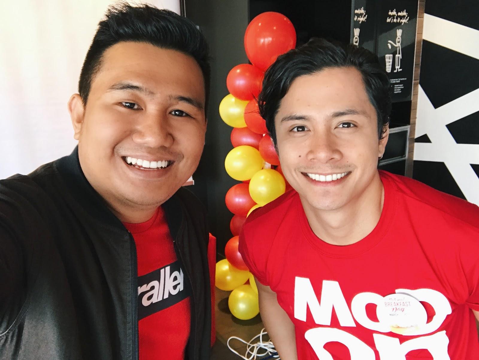 McDonald's National Breakfast Day JC Santos