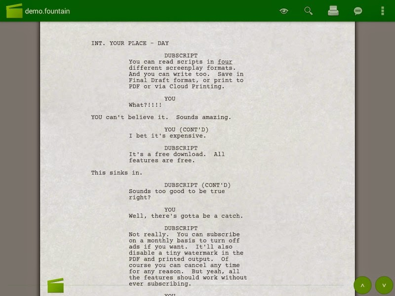 How to Write Screenplays Using Your Android Device | Tech Source