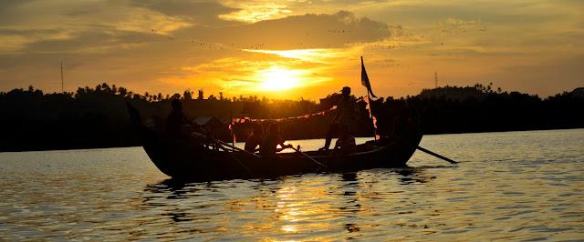 Landscape Photography, Lhokseumawe, Perahu dan Nelayan,