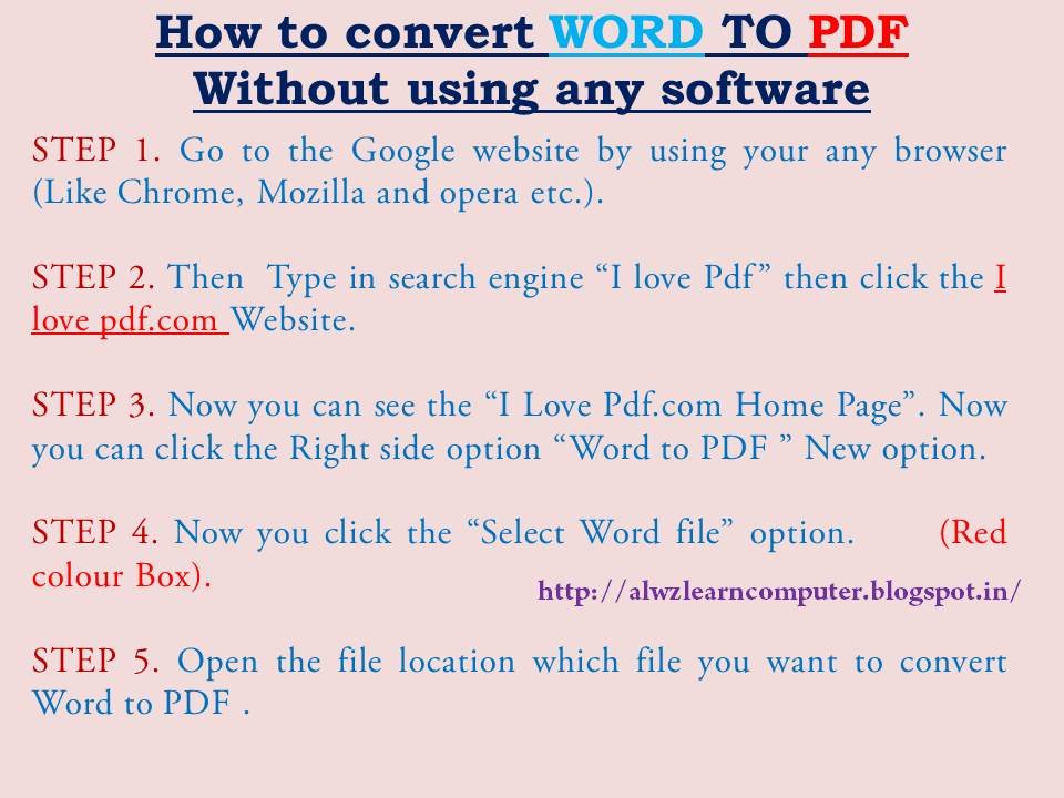 C - How do I convert Word files to PDF programmatically - Stack Overflow