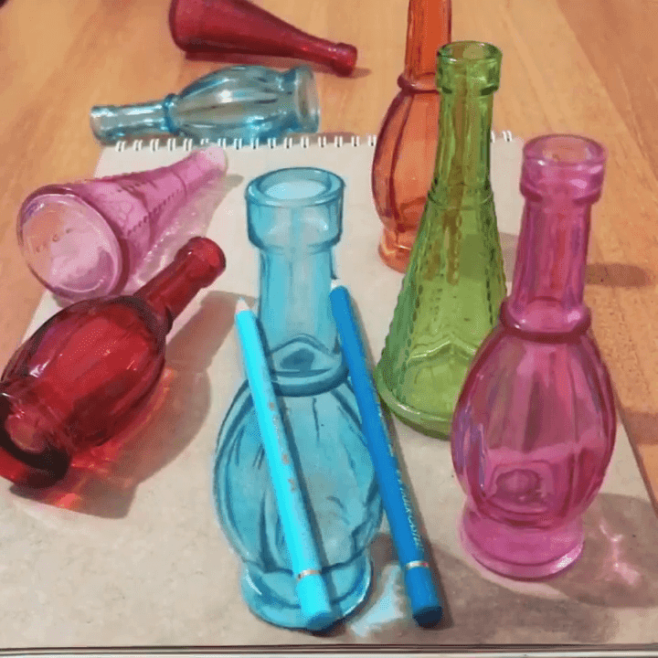 06-Colored-Glass-Bottles-Reveal-Elif-Nihan-Sahin-3D-Drawing-www-designstack-co