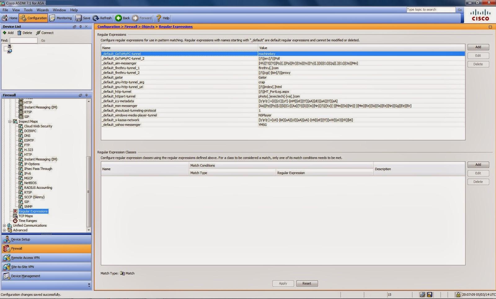 ThinGs-on-E: Cisco ASA URL Filtering [ASDM]