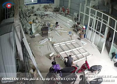 lắp camera quan sát giá rẻ tại Quán Nam