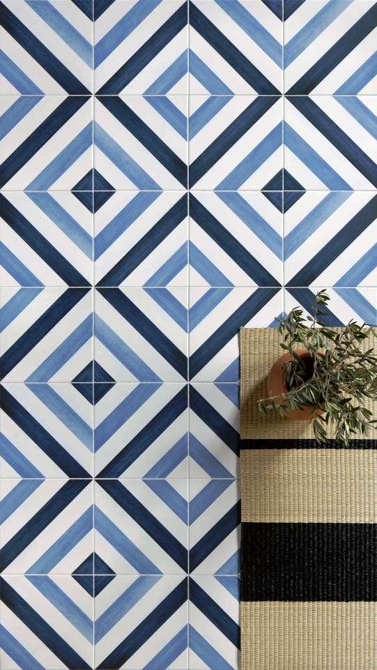 Trends In Bathroom Wall And Floor Tiles Sydney Blue