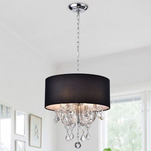 Dunaghy 4-Light Drum Chandelier