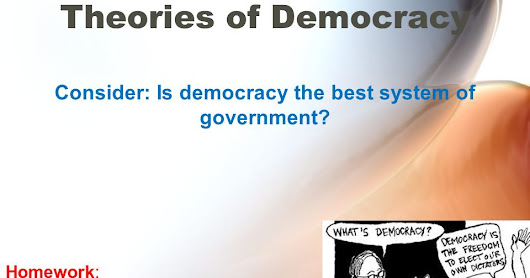 Democracy: Nation secondary to number?