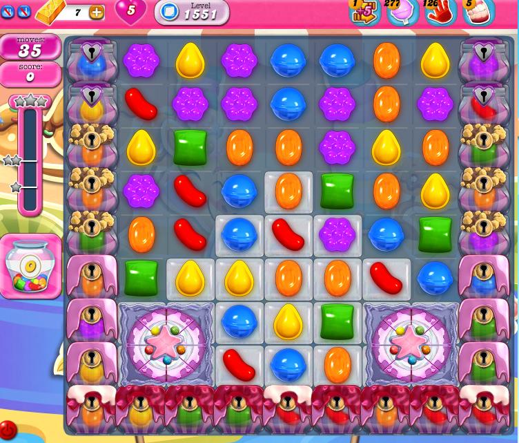 Candy Crush Saga 1551