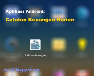 Ikon aplikasi catatan keuangan harian - karyafikri.blogspot.com