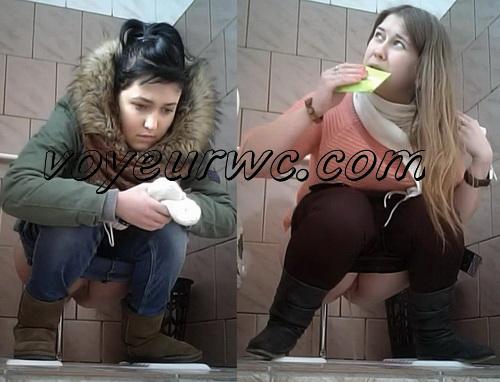 PissHunt 54  (Public toilets spy cam of girls pissing)