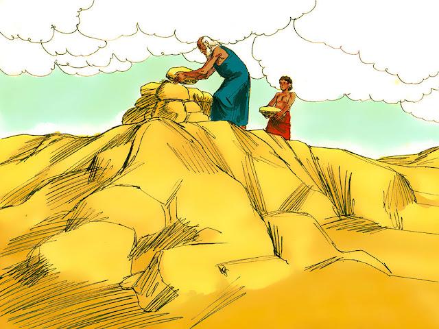 Altar Edificando e Restaurando o Altar a Deus