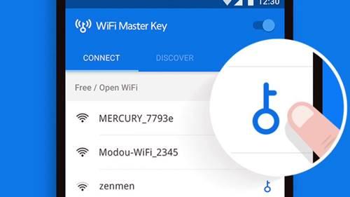 Encontre senhas de redes Wi-Fi grátis e próximas do seu celular com o app WiFi Master Key