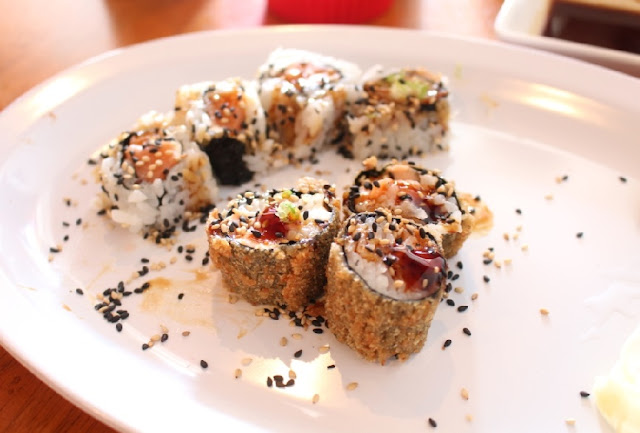 Restaurante Hand Roll Sushi em Orlando