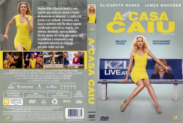 Capa DVD A Minha Casa Caiu