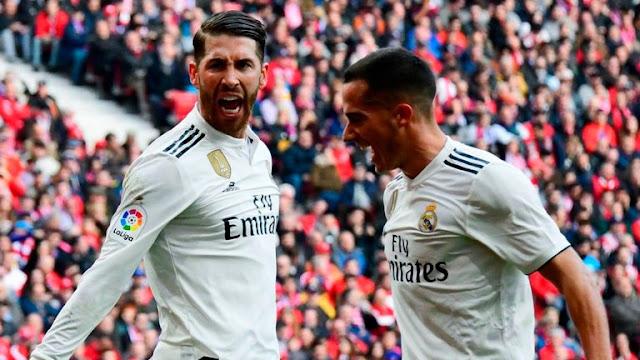 Real Madrid Sergio Ramos Vs Atletico Madrid