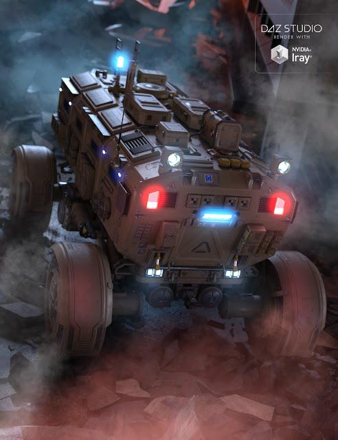 Sci-fi Rover trailer