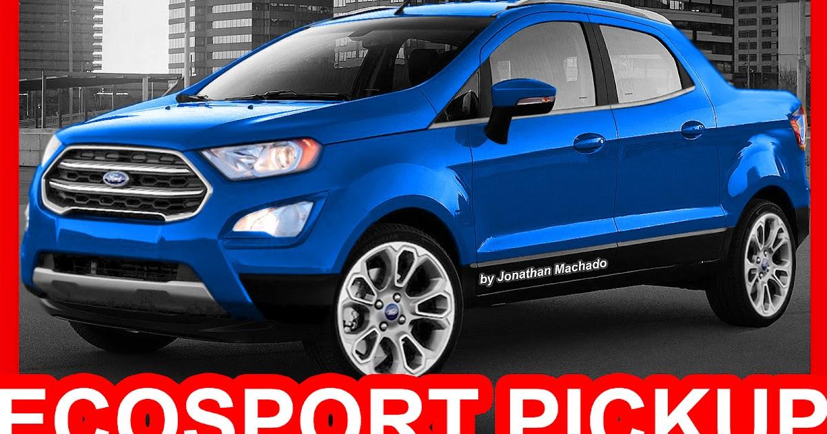 Carwp Photoshop Nova Ford Ecosport Pickup 2018 Rival Da