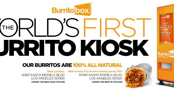 burrito vending machine franchise