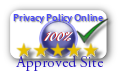 Approve by privacypolicyonline.com