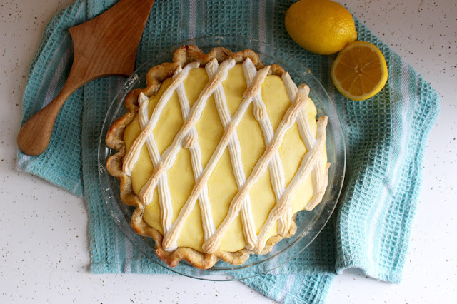 Black Bottom Lemon Pie | Nothing in the House