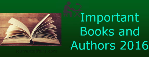 Important Books and Authors 2016