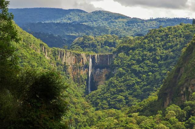 Cachoeira do Avencal, em Urubici