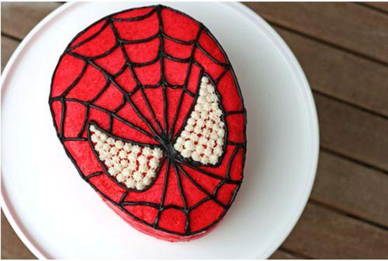 Gambar Kue Ulang Tahun Spiderman